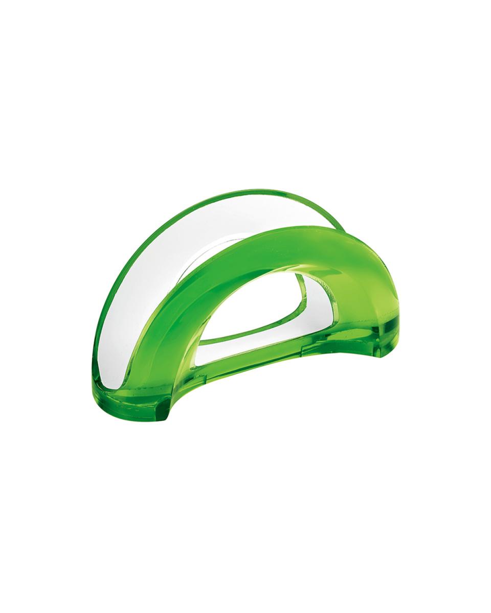 GUZZINI / グリーン テーブルナプキンホルダー MIRAGE○24900044