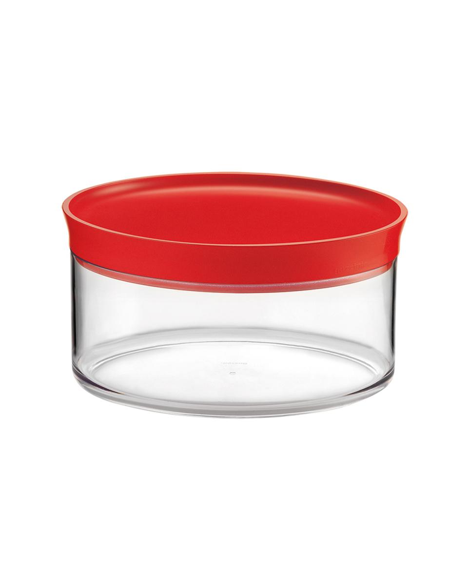 GUZZINI / Red Oval storage jar 2L ○ 27410055