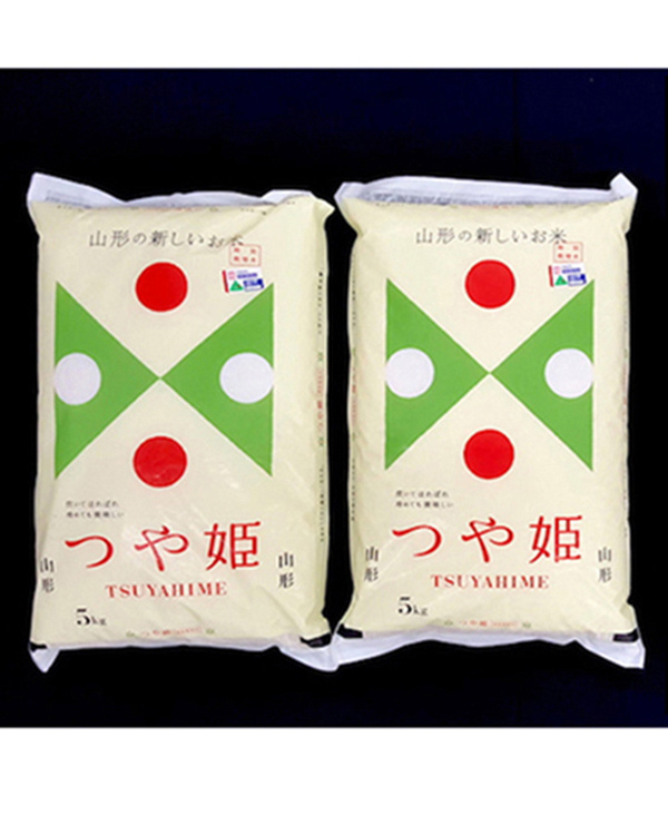 Sanei farm / chemical fertilizer zero special cultivation rice Yamagata Tsuyahime 5kg × 2 bags (total of 10kg) / postage ○ 4