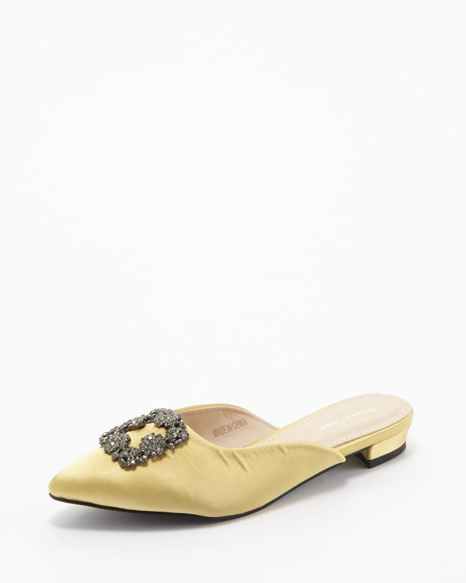 Shoes in Closet Shukuro / yellow pumps, flat shoes ○ 087000 / Women's
