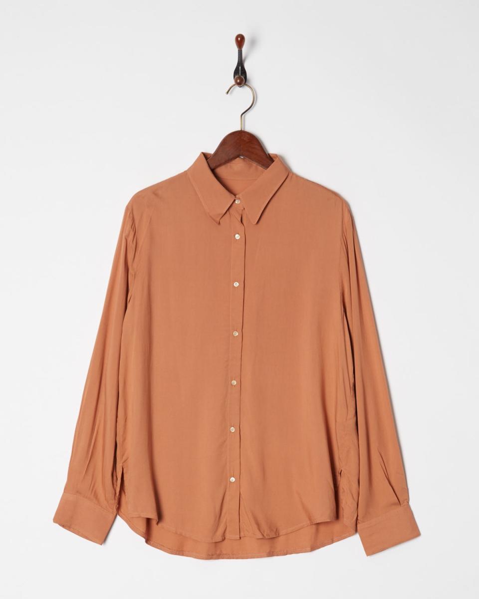 AMBINET / Orange rayon dolman shirt ○ CQWI0375 / Women's