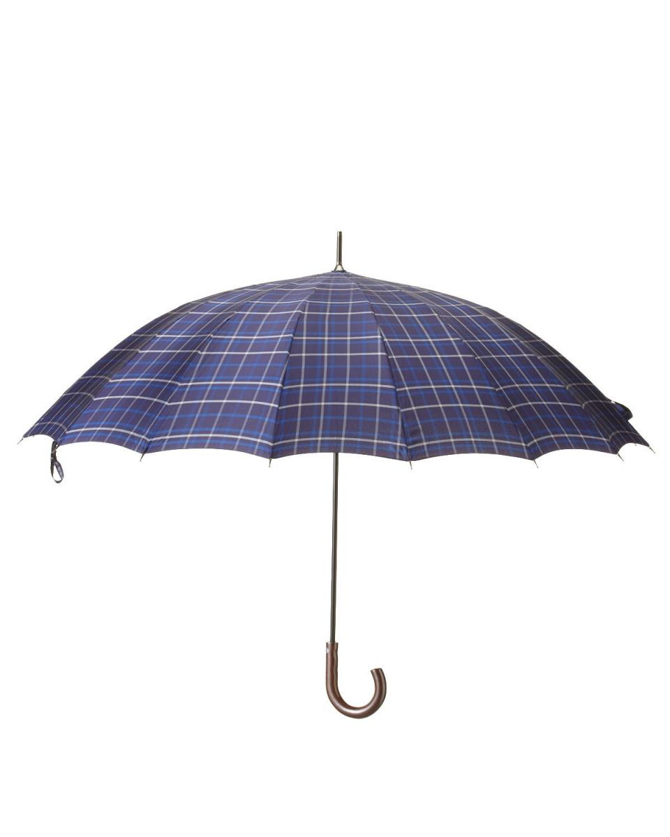 Bronze / S-NB-dyed lattice 16 bone umbrella ○ 227598