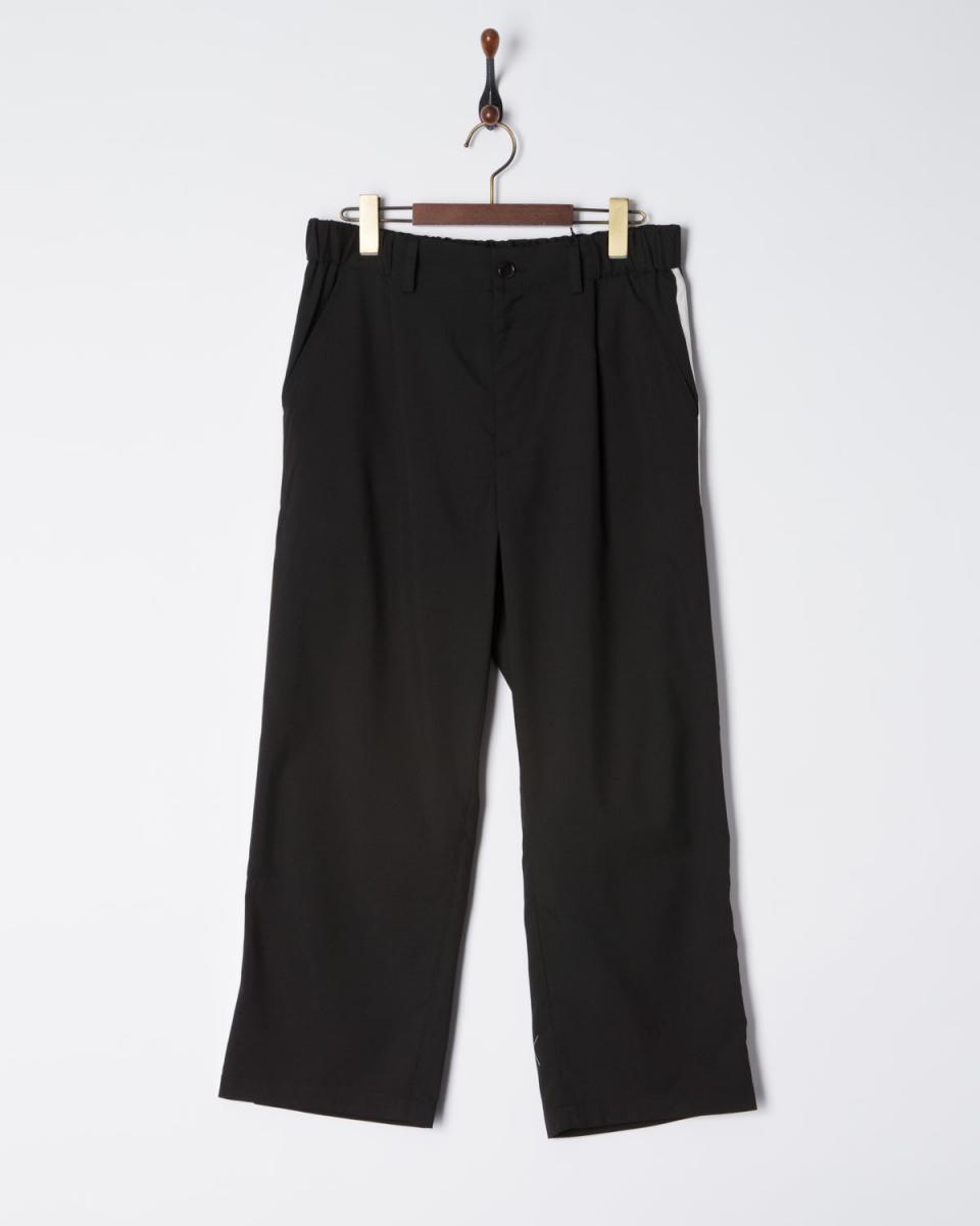 SLICK / 70040 / 2TR stretch sideline wide pants ○ 5155310 / Men's