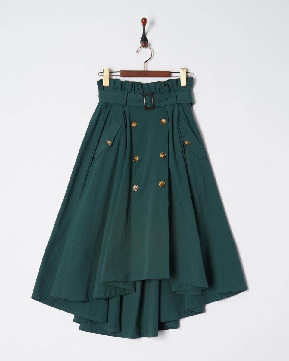 MIIA / GR尾切槽裙子○34838716 /女子