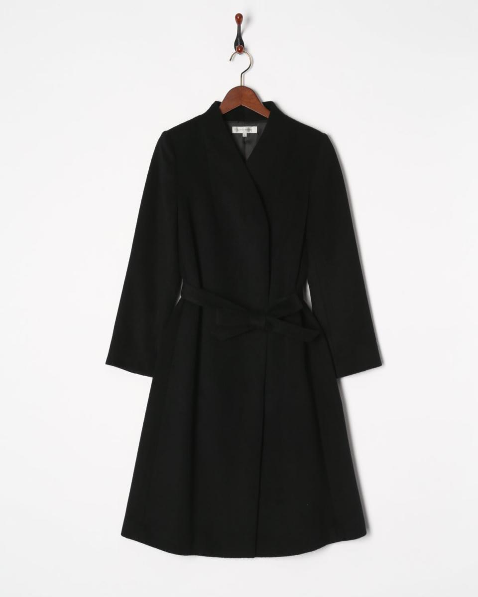 AZEY-LE /黑色安哥拉混合外套○9689 /女装