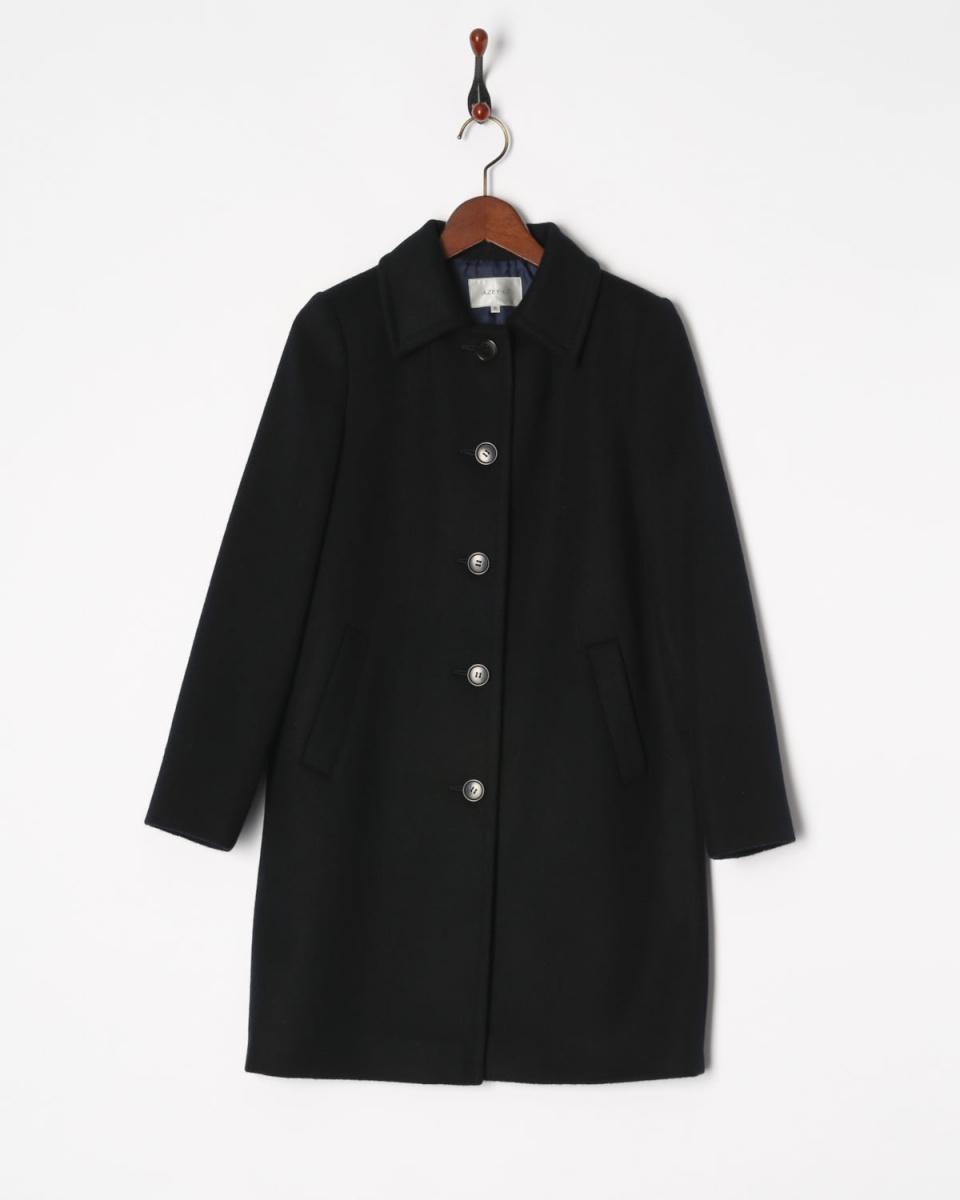 AZEY-LE /海军安哥拉混合外套○9690 /女装