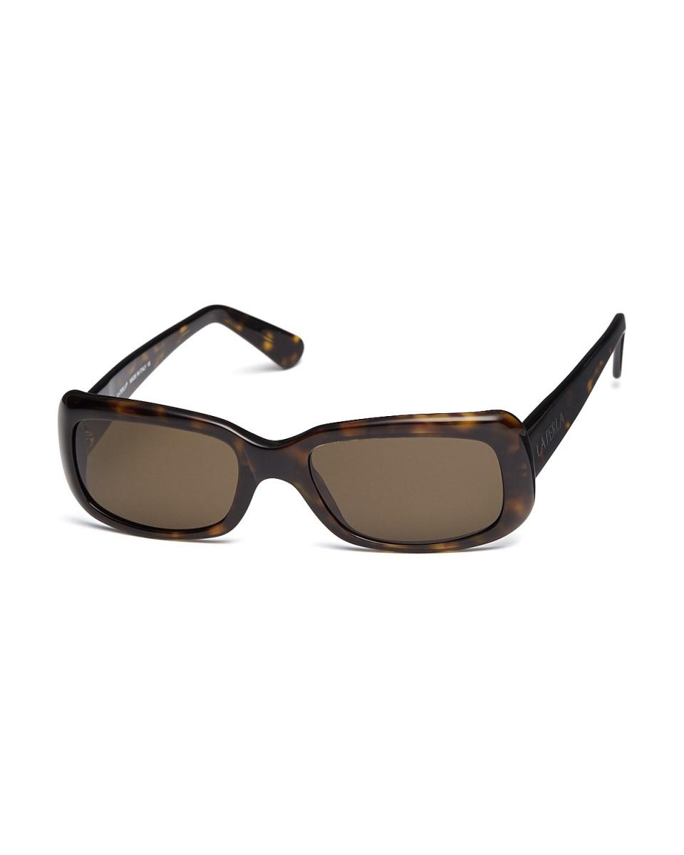 LA PERLA / Demi Brown Square eyewear ○ 008