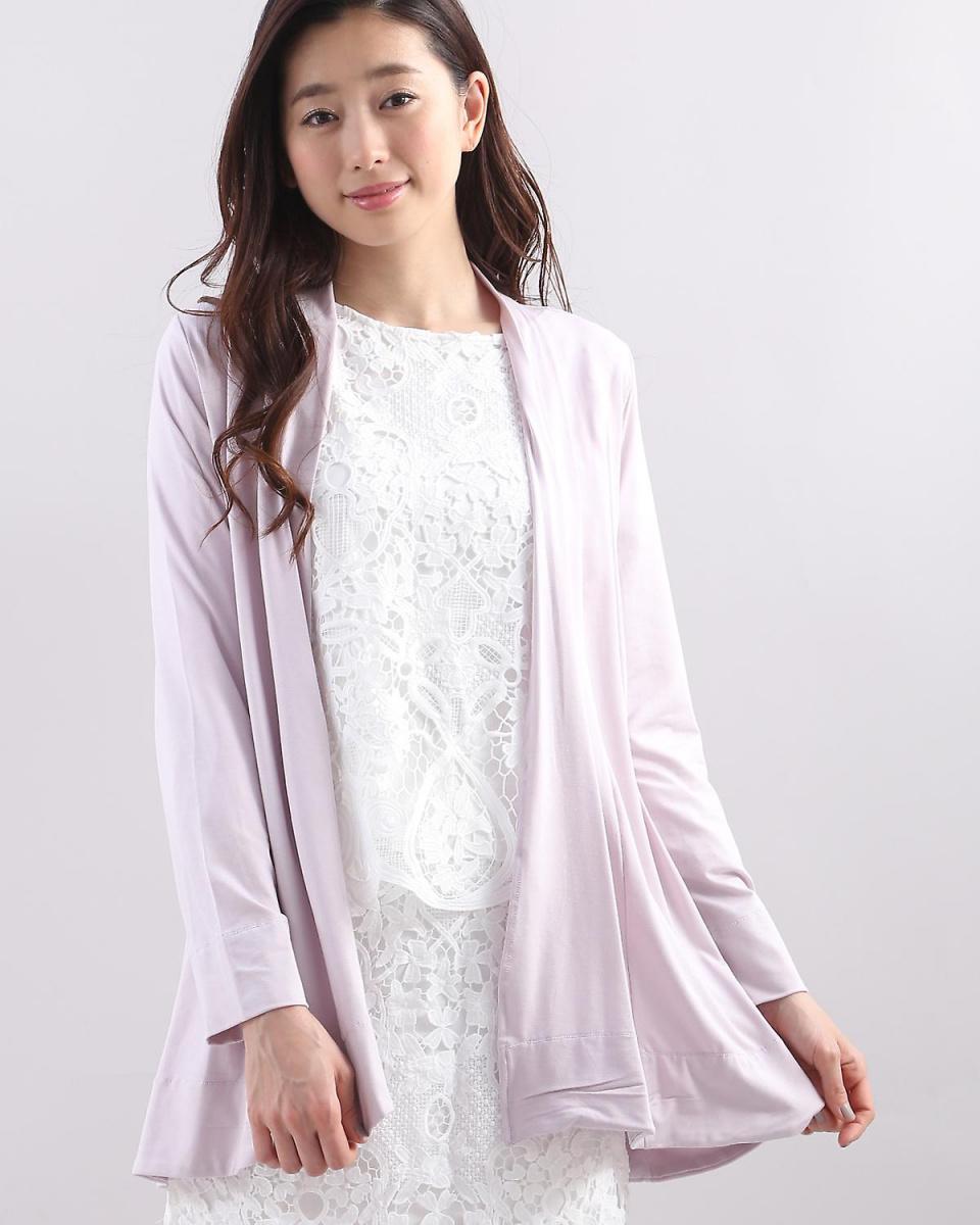 IT'S. International / Pink 1 Kinagashi stretch cut cardigan IT'S. International ○ 1081198004 / Women's
