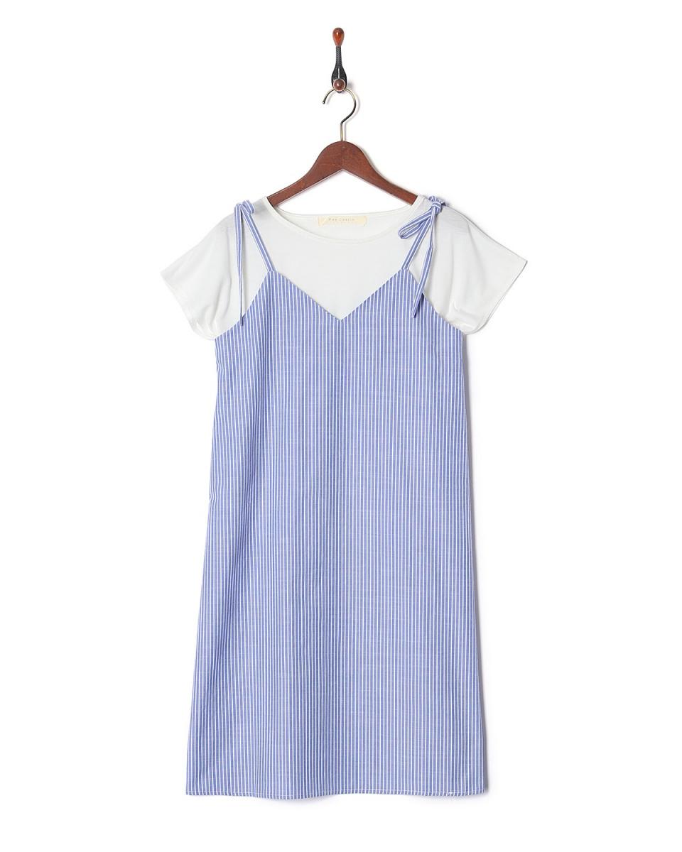 雷·卡森/藍KR 2件套(CAMI禮服襯衫XT)○984682440 /女裝