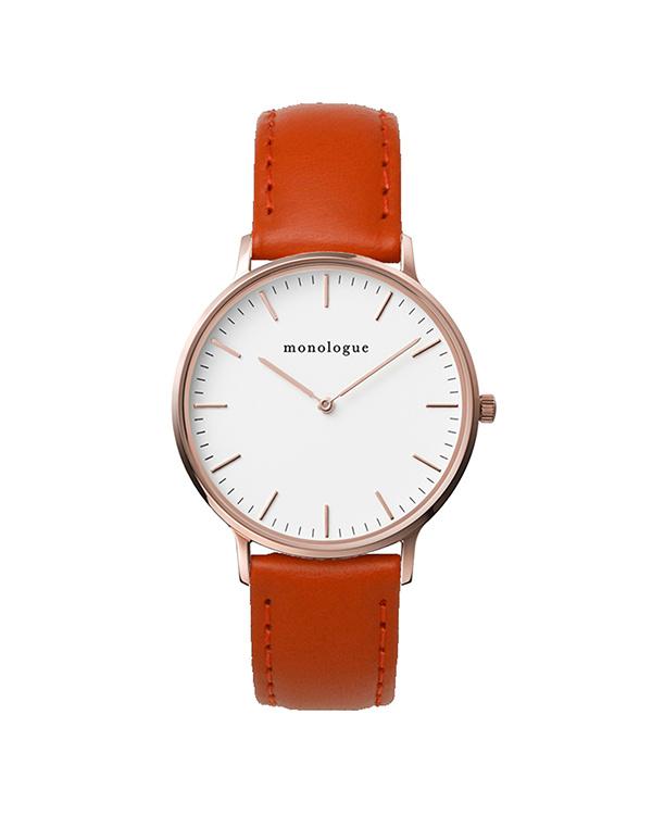 独白/橙色37毫米智能手表○mw37203a05d37-bhf010b18 /中性