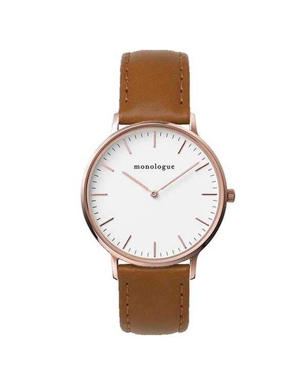 独白/浅褐色37毫米智能手表○mw37203a05d37-bhf011b18 /中性