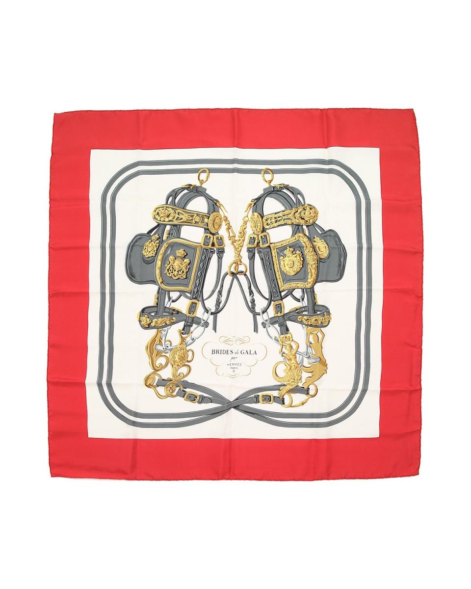 Hermes / belt motif RED × WHT ○ FA4347