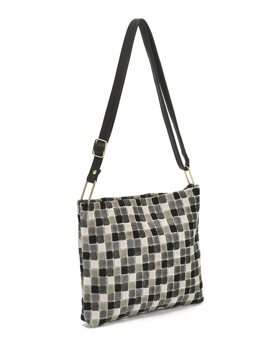 KUNUNURRA / Black A European fabric shoulder ○ 518253