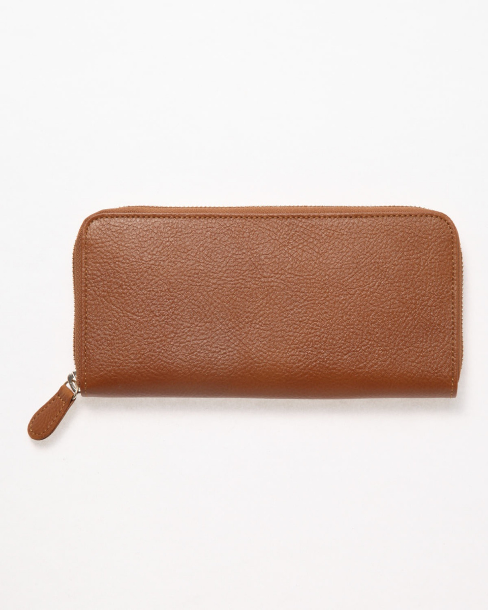 KUNUNURRA / Camel COW leather wallet ○ 8168067