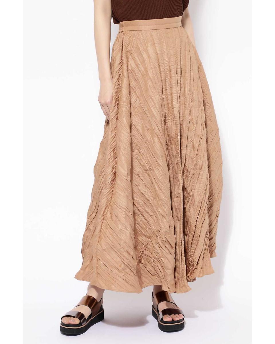 R / B(买入)/布朗1随机百褶长裙R / B(买入)○6018234035 /女装
