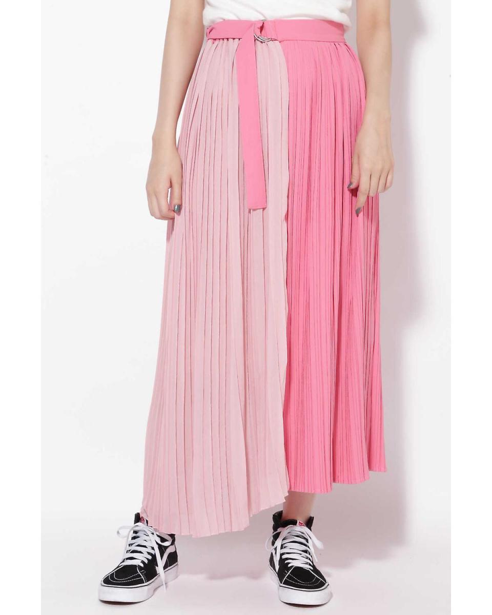 R / B(购买)/粉红1个褶裹裙R / B(购买)○6018234036 /女性