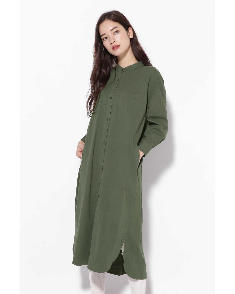R / B (buying) / Green 1 long shirt dress R / B (buying) ○ 6018240048 / Women's