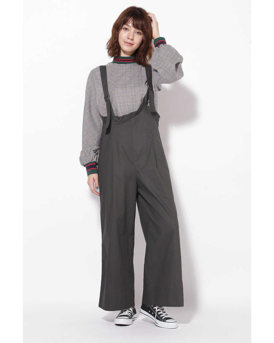 R / B (buying) / Black 1 overalls wide pants R / B (buying) ○ 6018243002 / Women's