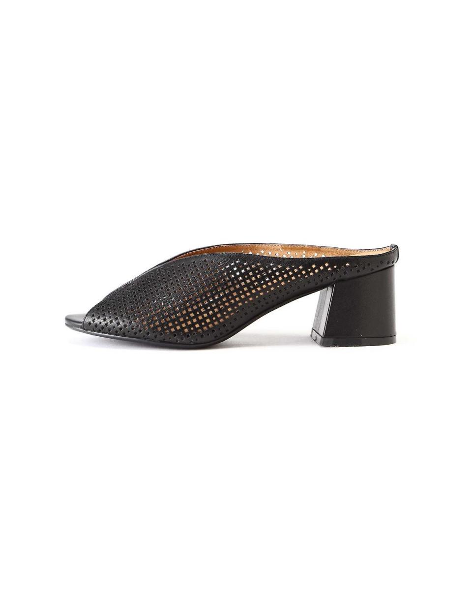 R / B(购买)/黑1个冲压骡凉鞋R / B(购买)○6018258001 /女性