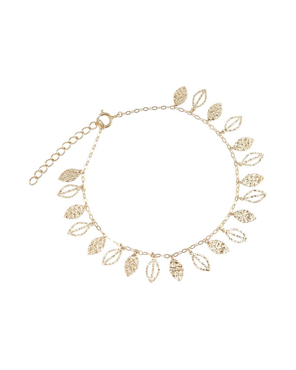 Essenza Gold / K14YGデザイン ブレス○92308 / ウィメンズ