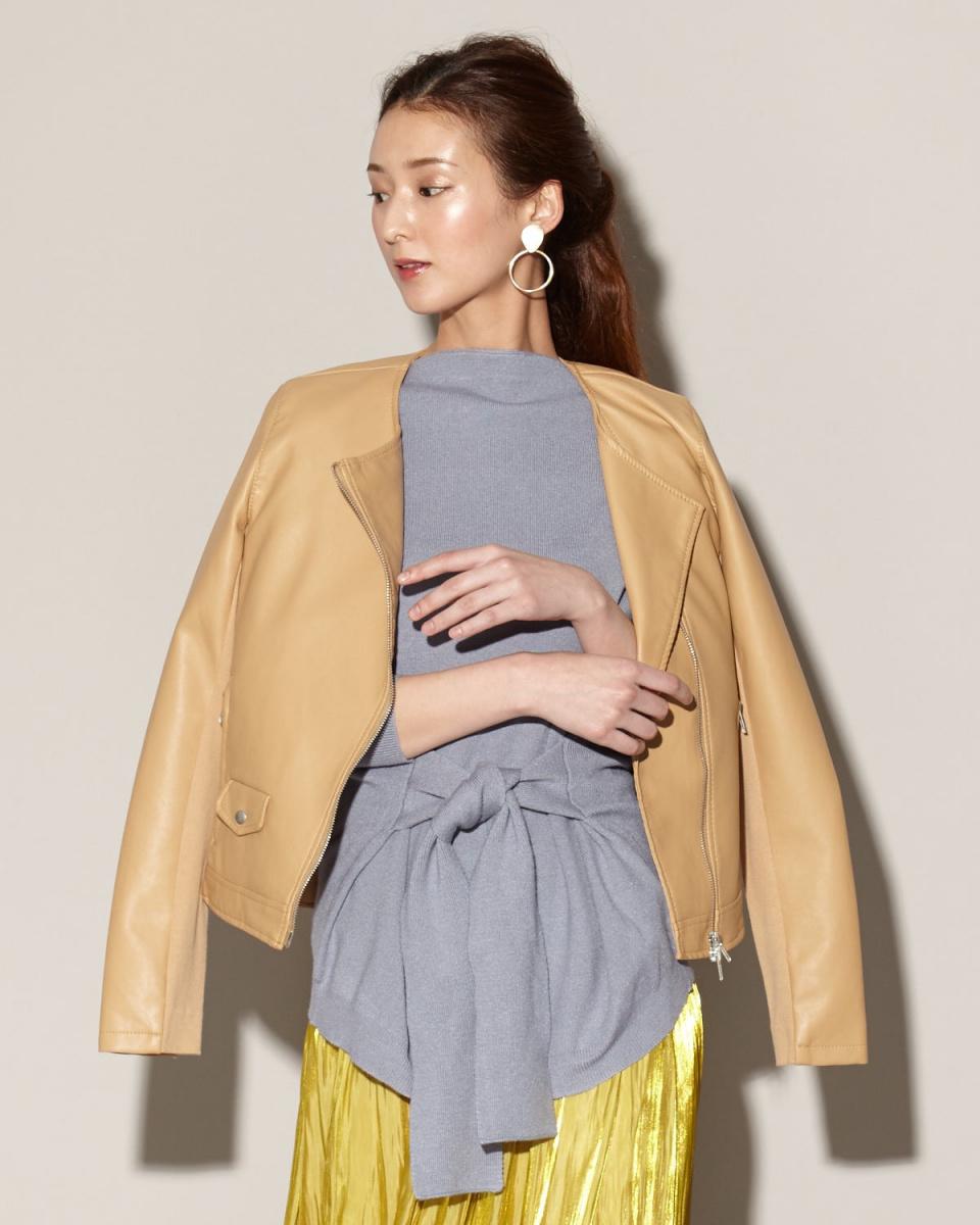 LAVEANGE /米色夾克○579008 /女裝