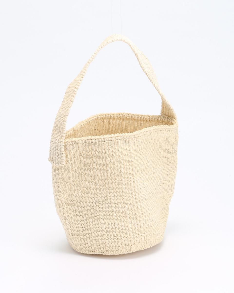 BAMBOULA / NATURAL bag ○ CYLINDER