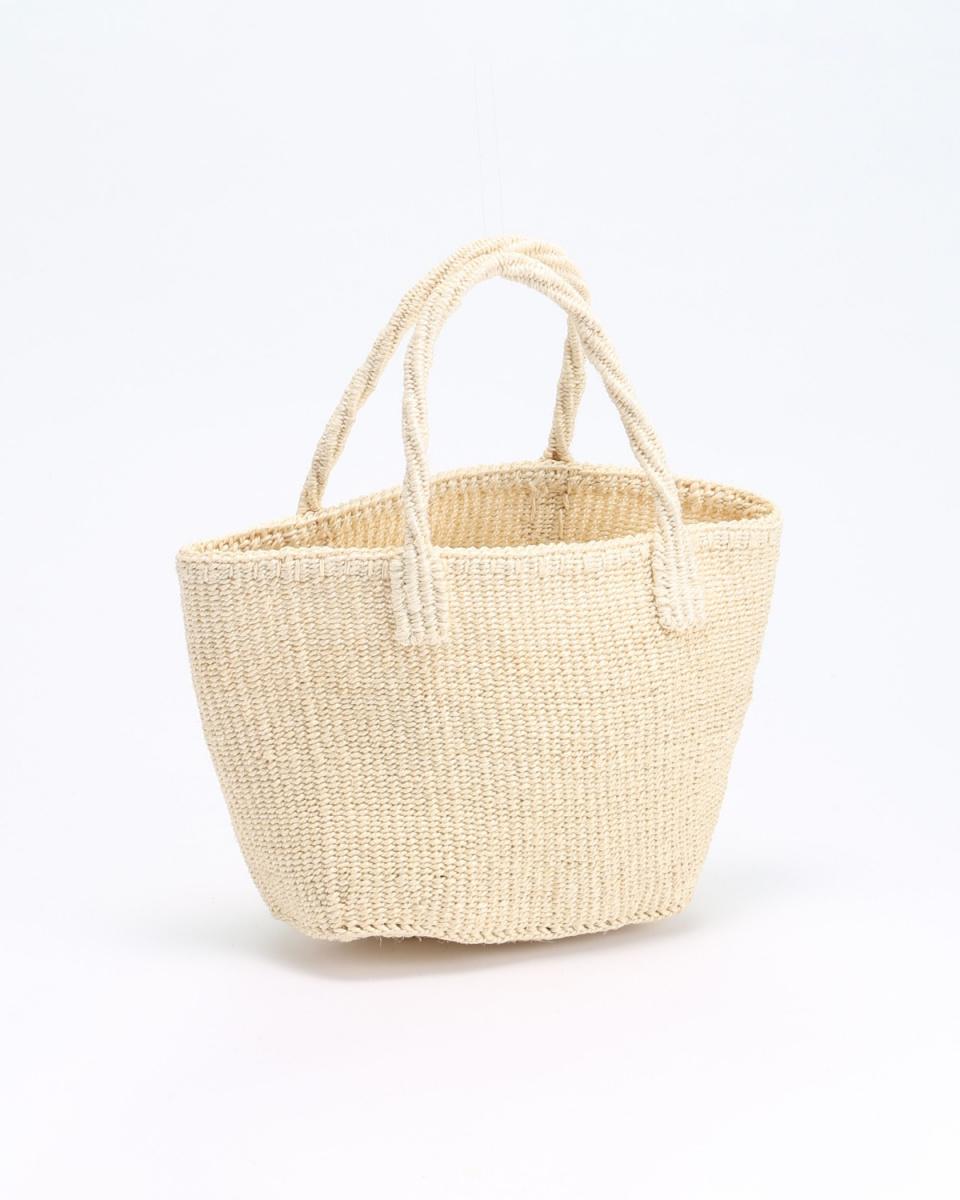 BAMBOULA / NATURAL bag ○ RECTANGLE