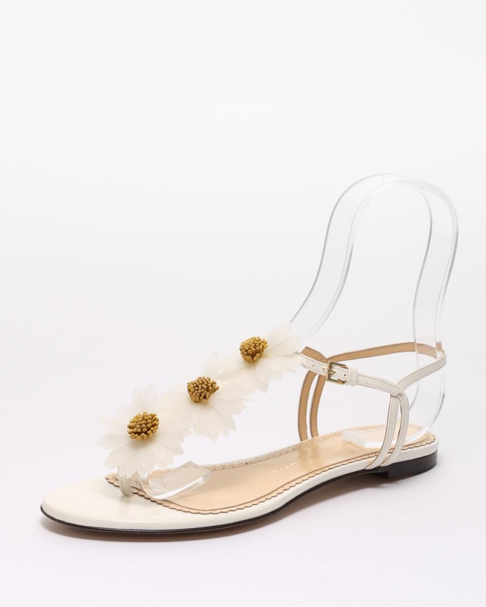 CHARLOTTE OLYMPIA / 0100WHITE鞋○71-5127KID /女裝