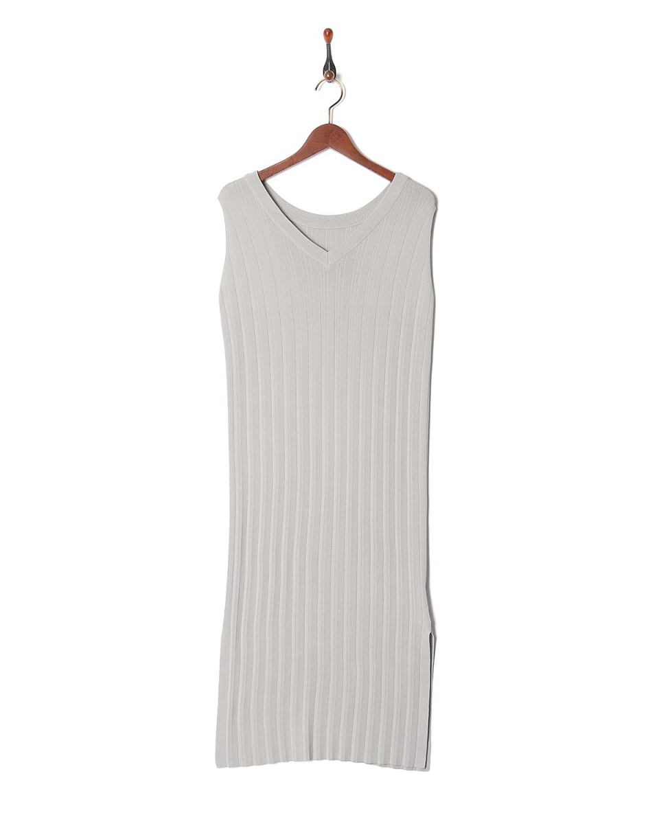 LILLY LYNQUE / l.gray Nosuri针织连衣裙○8708205 /女装