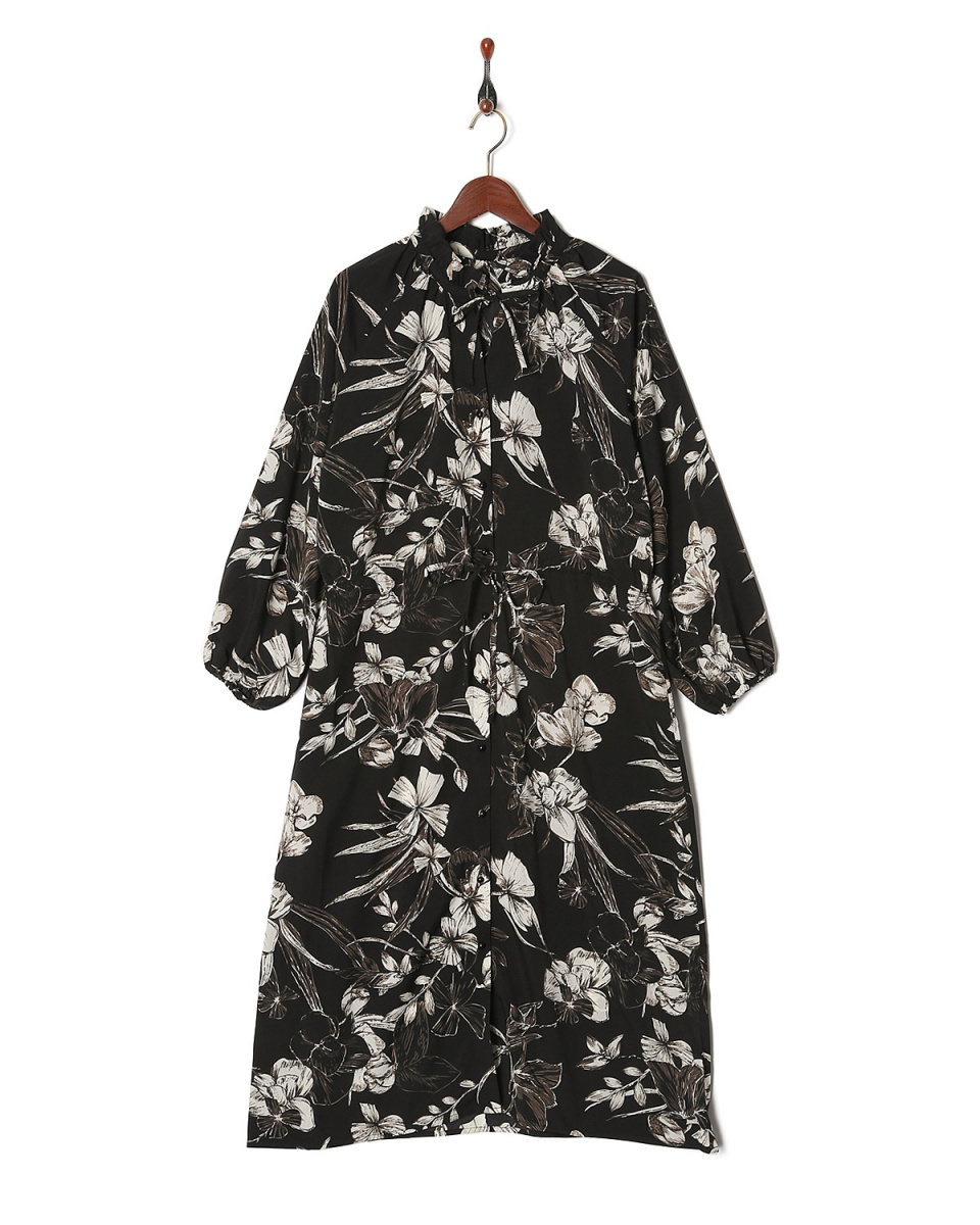 vingtrois / black floral topper ○ 182-59107 / Women's