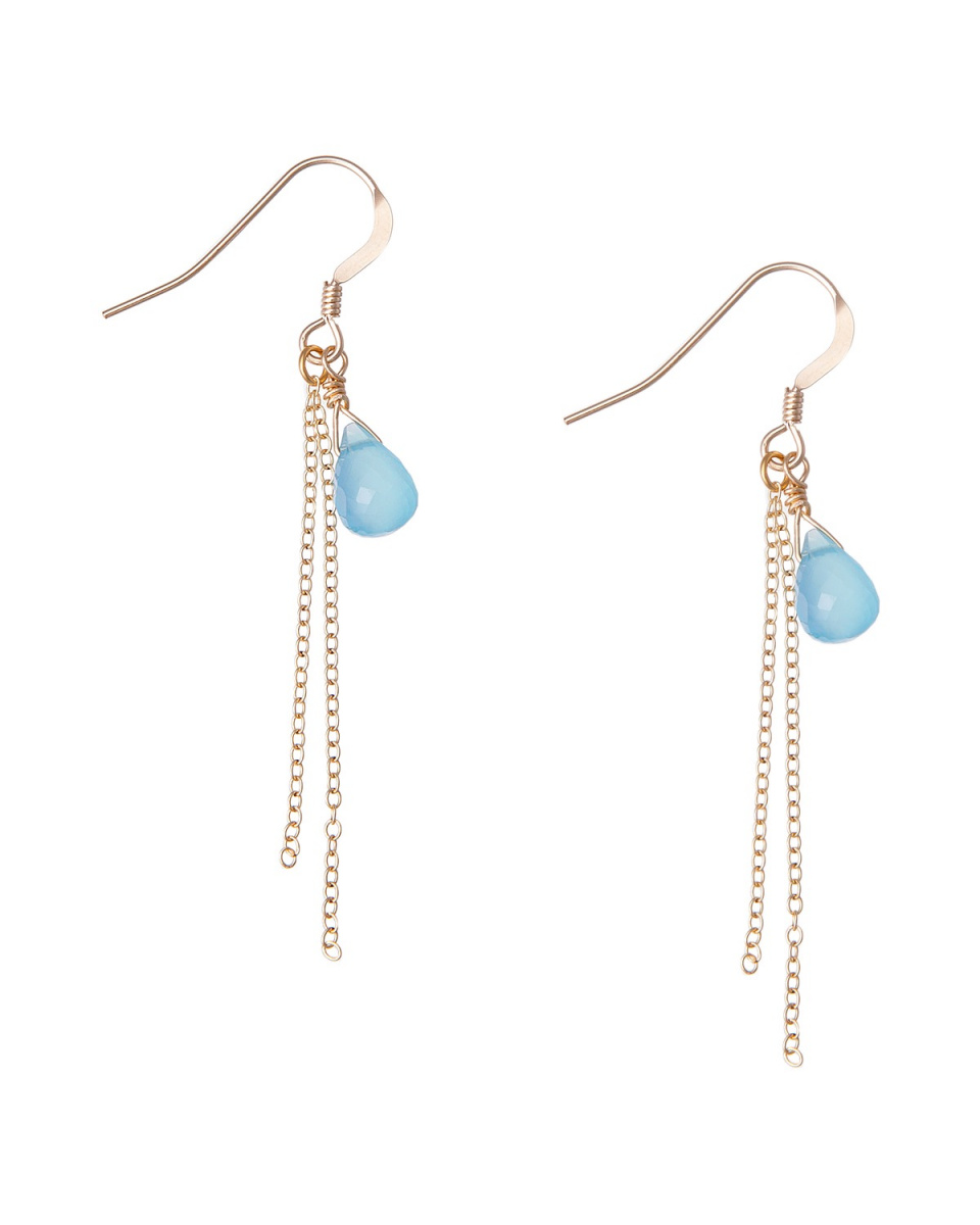 tanto-colo / aqua earrings ○ CP-5 / Women's