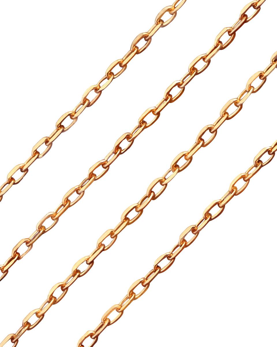 DIAMOND SELECTION / K18PG18金あずきチェーン単品○CHUZ-A40-K18PG / ウィメンズ