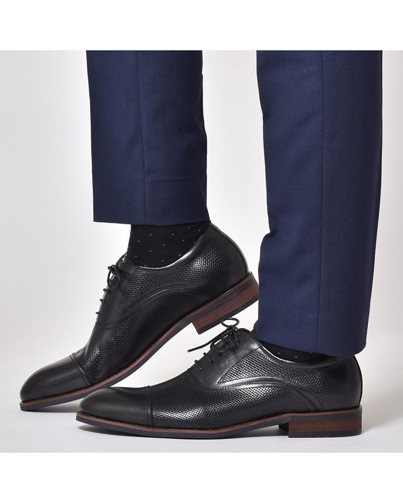LUCIUS / black lace-up shoes ○ HA18558-1 / Men's