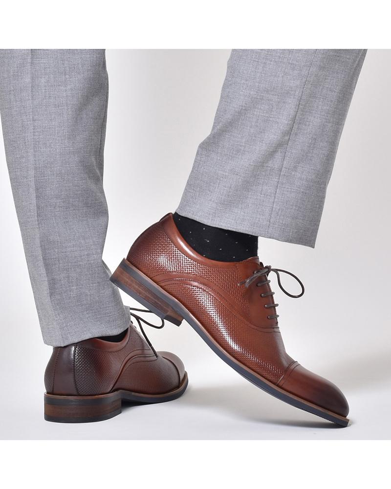 LUCIUS / brown lace-up shoes ○ HA18558-1 / Men's