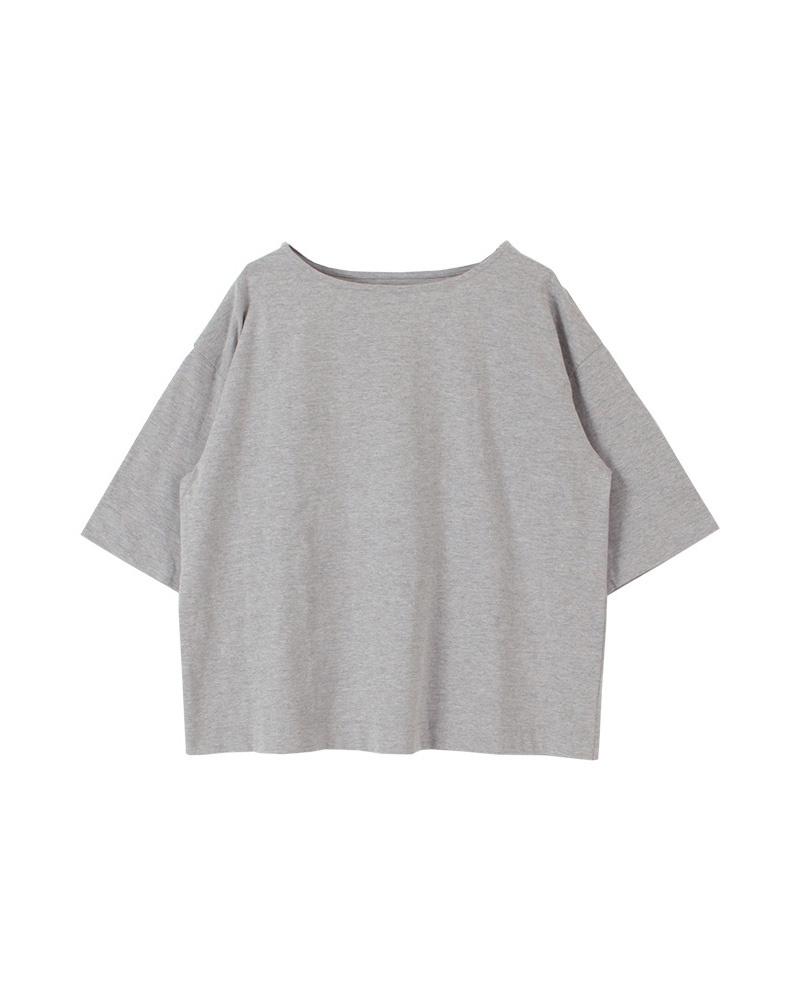 titivate / 杢グレービッグシルエットコットンTシャツ○ATXN0200 / ウィメンズ