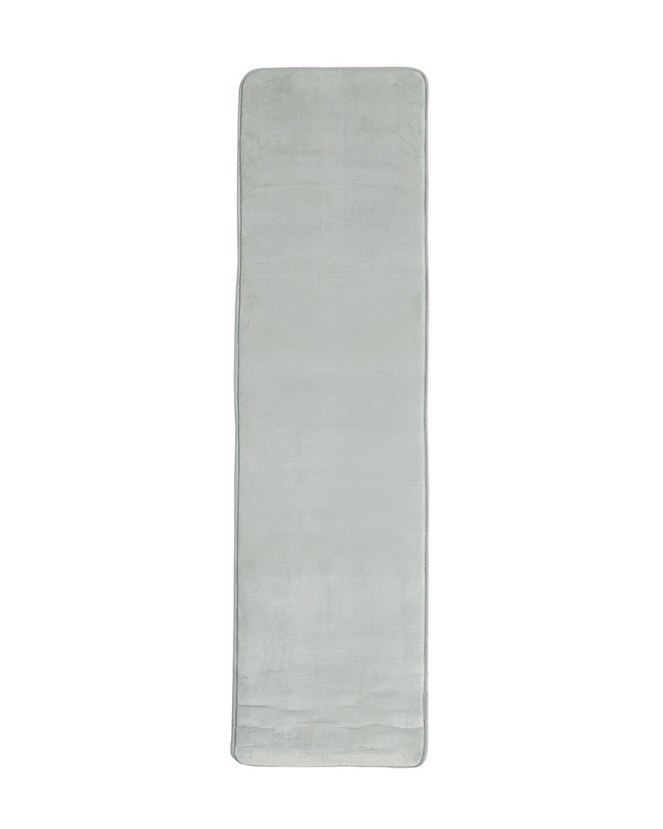 SLECTION_大一商事 / ライトグレー厚手の拭けて洗えるはっ水機能キッチンマット  45×180 ライトグレー○4993031266957