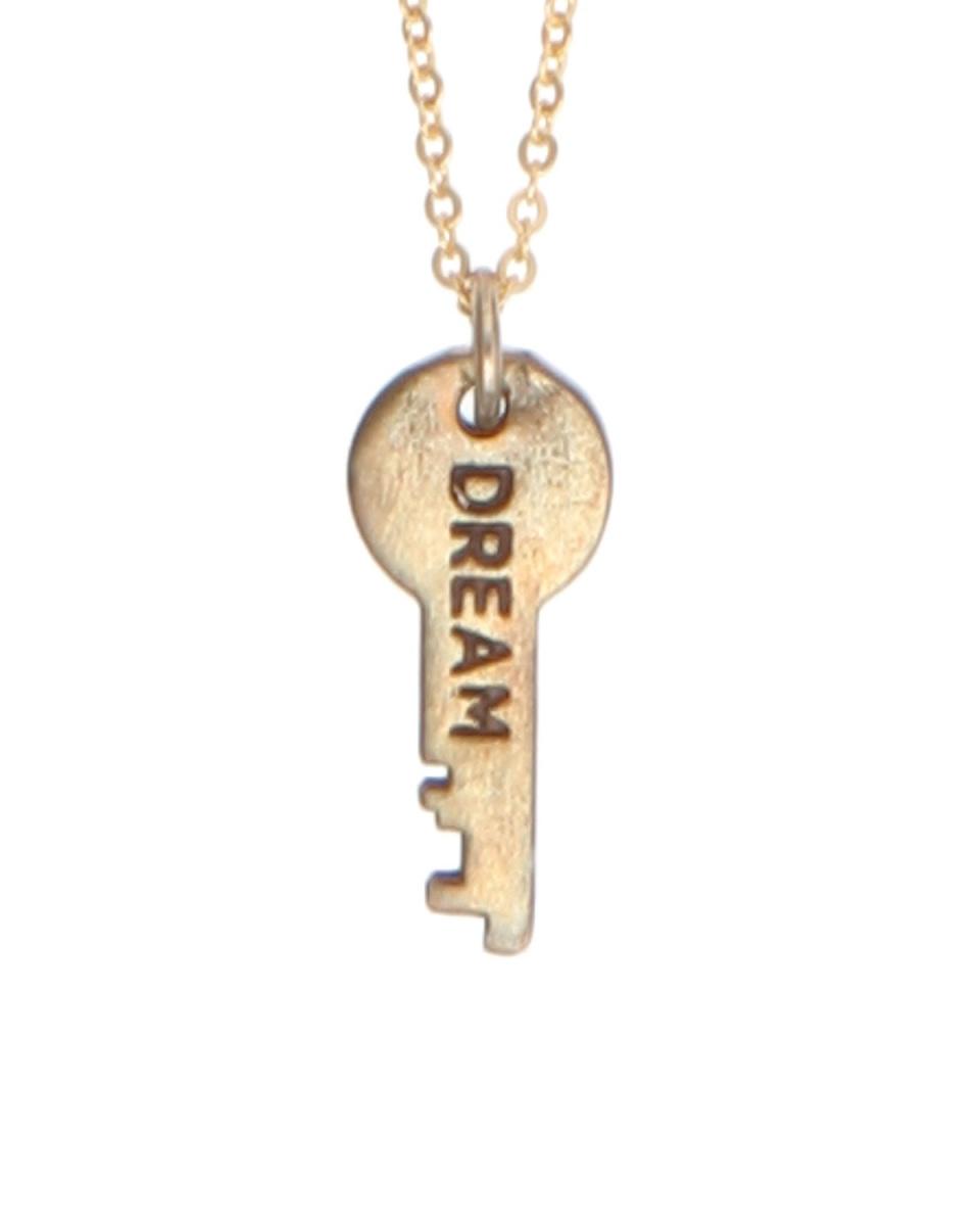 NANO UNIVERSE / ゴールド[THE GIVING KEYS]プチキーネックレス-DREAM-○9999165171429 / ウィメンズ