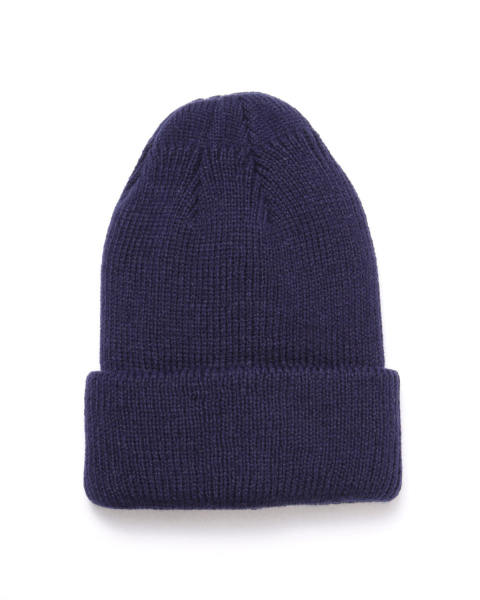 NANO UNIVERSE / ネイビーカラーニット帽○9999165265015