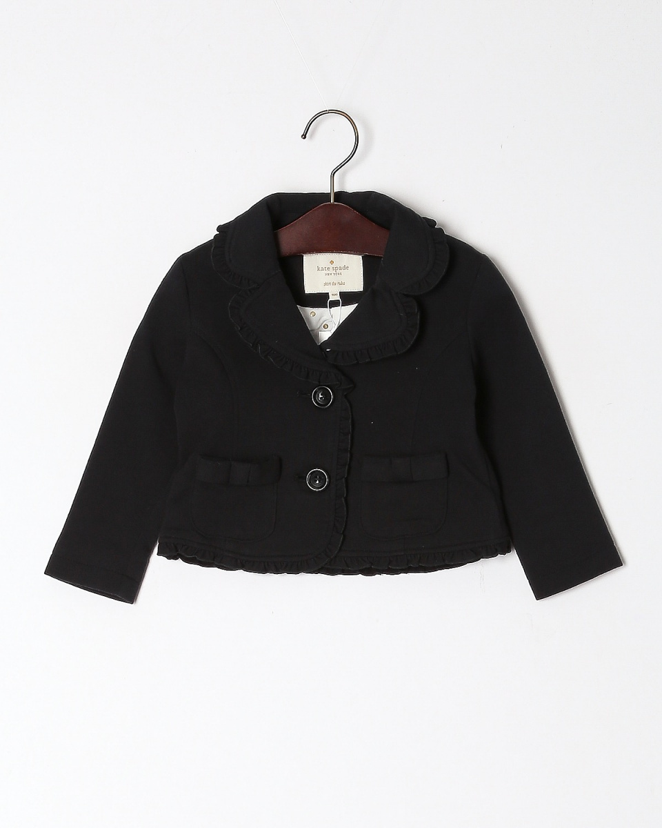 KATE SPADE / クロ baby french terry JKT○8673252 / キッズ&ベイビー
