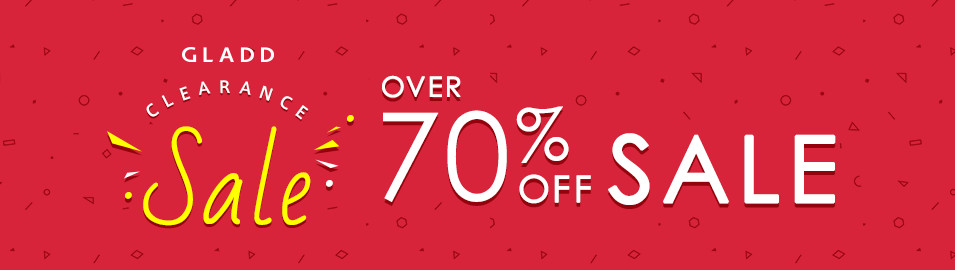 OVER 70%OFF SALE