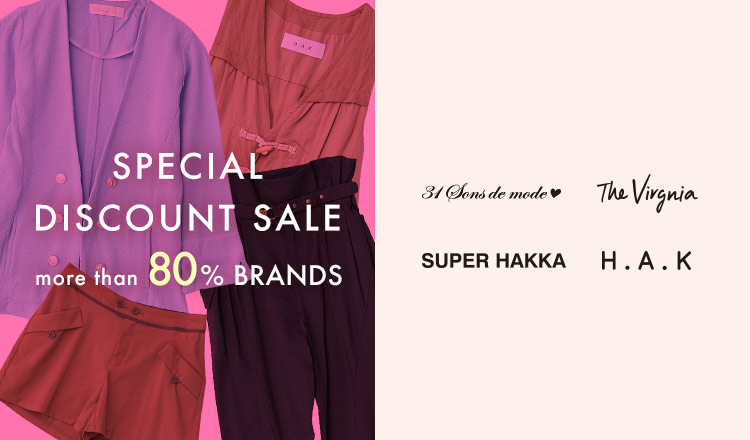 SPECIAL DISCOUNT SALE MORE THAN 80% BRANDS