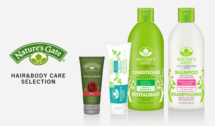 HAIR&BODY CARE SELECTION_NATURE'S GATE MORE