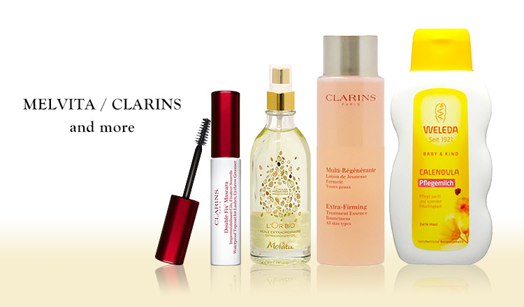 MELVITA/CLARINS and more
