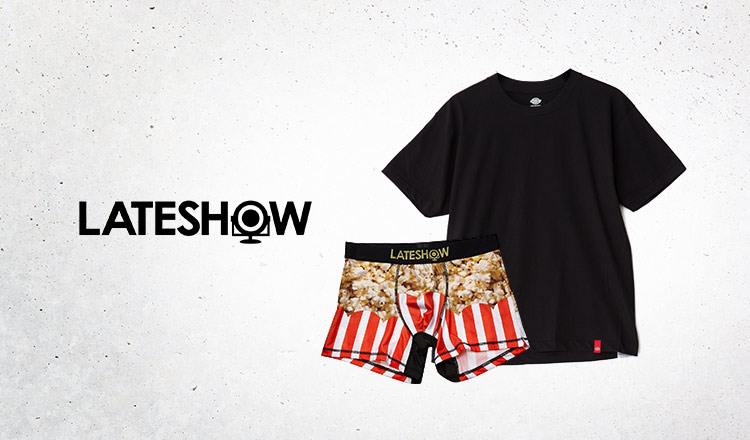 LATESHOW and more -INNER WEAR COLLECTION-