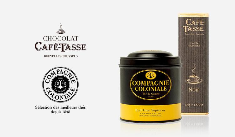贅沢な味わい CAFE TASSE&COMPAGNIE COLONIALE