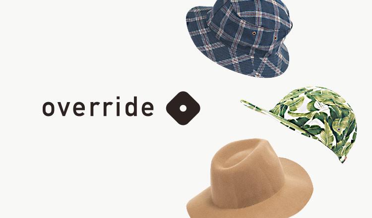 OVERRIDE(オーバーライド)