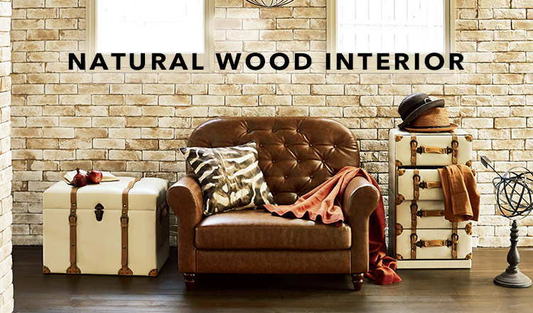 NATURAL WOOD INTERIOR