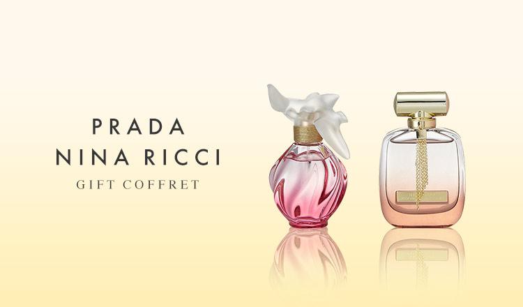 PRADA/NINA RICCI GIFT COFFRET