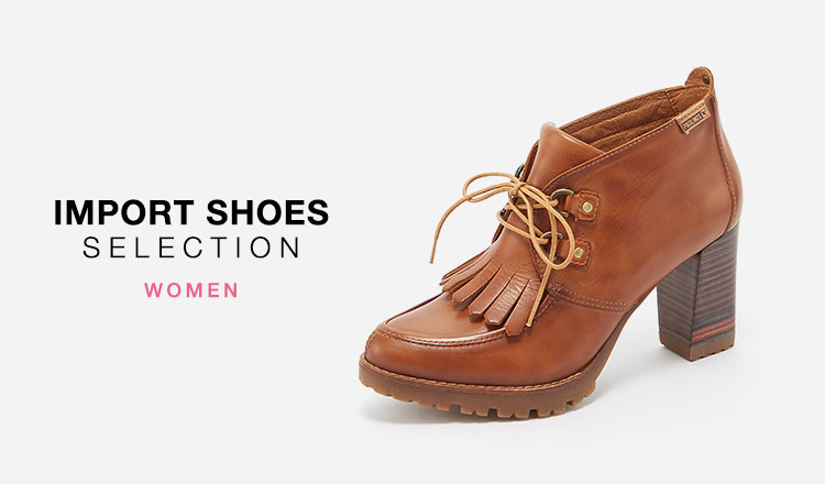 IMPORT SHOES SELECTION WOMEN