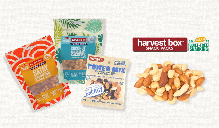 GUILT FREE SNACK -HARVEST BOX-